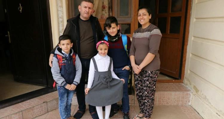 O cristão iraquiano Basman teve que fugir com a família quando o Estado Islâmico invadiu sua cidade, em agosto de 2014