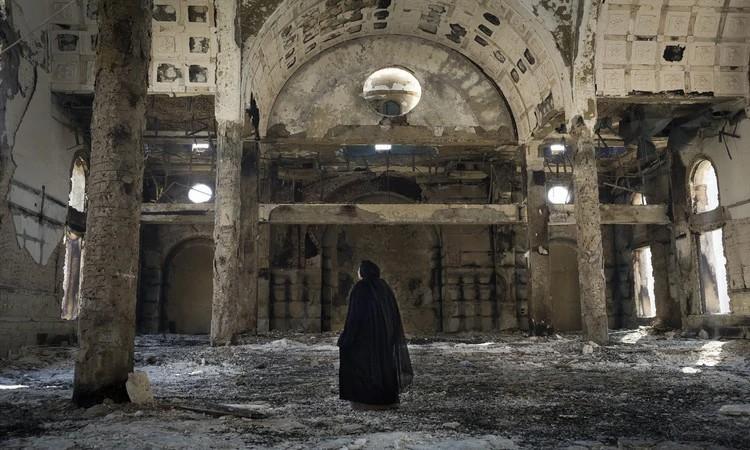 A igreja copta do Egito enfrenta ataques por meio de incêndios