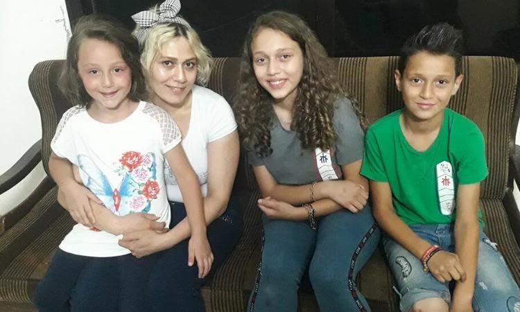Emma e a família encontraram apoio em um dos Centros de Esperança na Síria