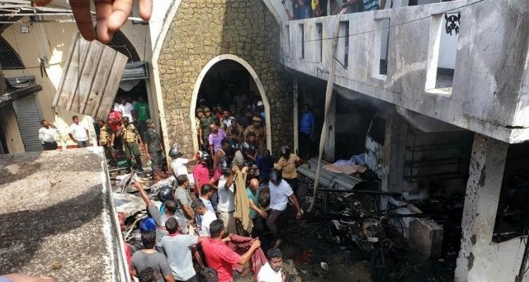 A Igreja Sião, em Batticaloa, foi uma das três igrejas cristãs atacadas na Páscoa, no Sri Lanka (foto: redes sociais)