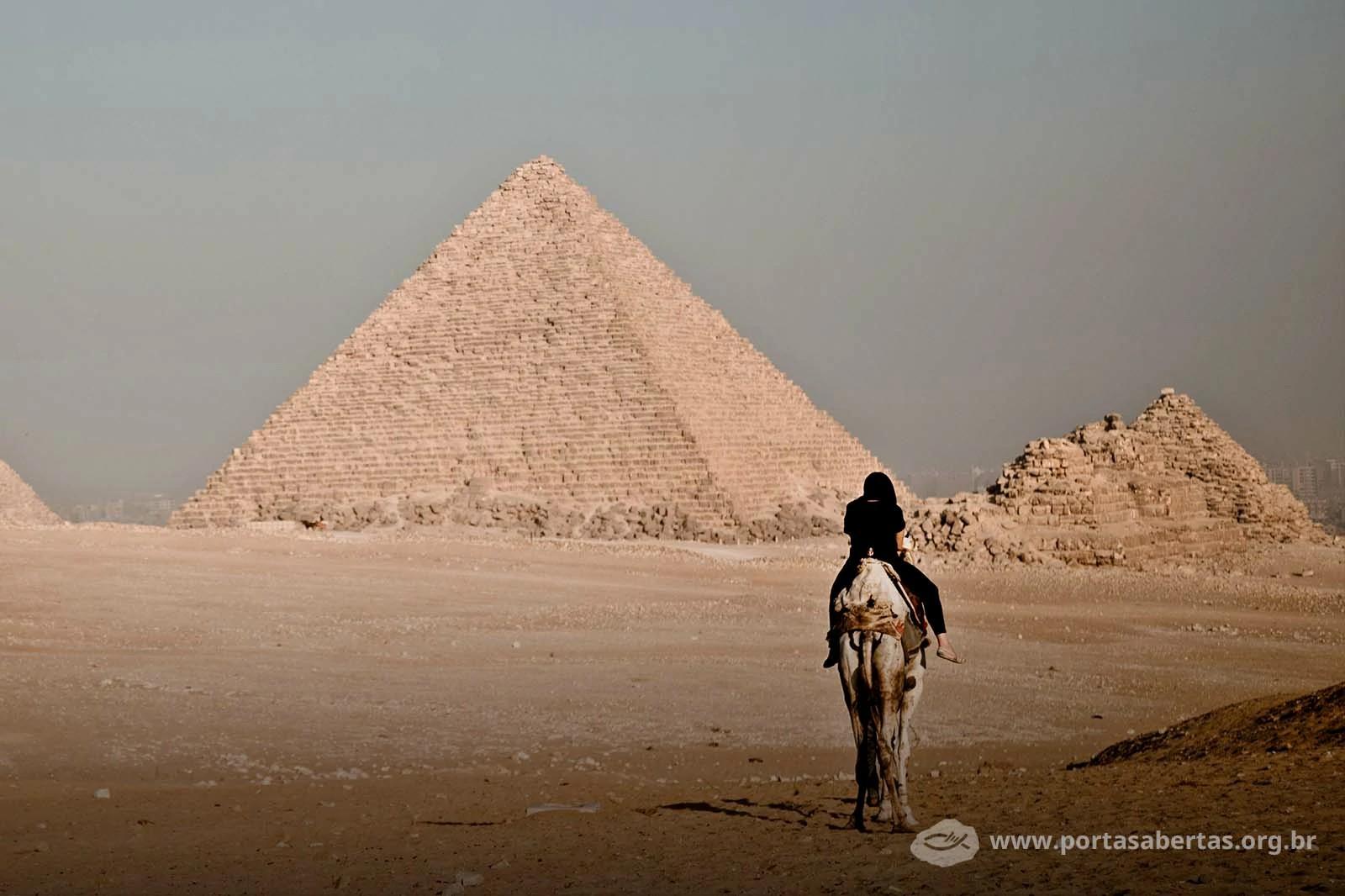 Cerca de 85% da população egípcia é muçulmana