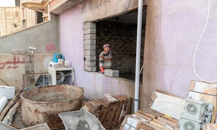 Após a restauração das casas, os cristãos podem voltar para as cidades e restabelecer as igrejas locais