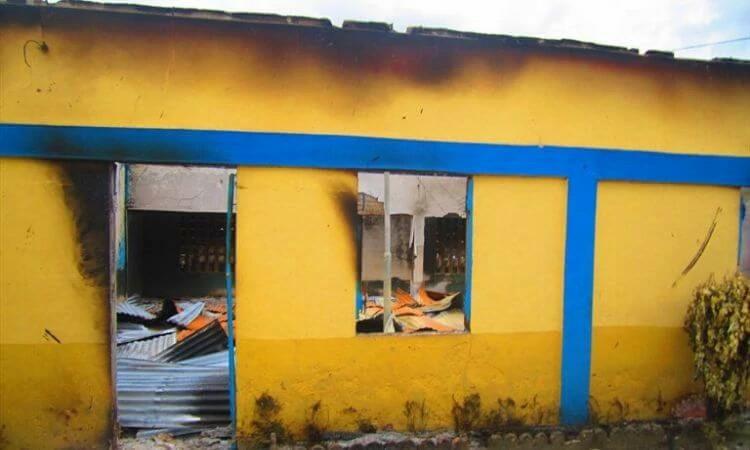 A equipe local da Portas Abertas investiga as possíveis causas dos incêndios Imagem: arquivo